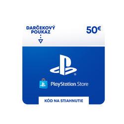 PlayStation Store 50€ - elektronická peňaženka na progamingshop.sk
