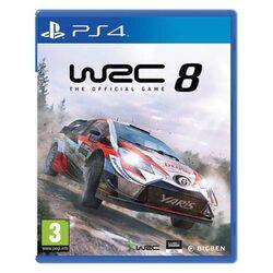 WRC 8: The Official Game [PS4] - BAZÁR (použitý tovar) na progamingshop.sk