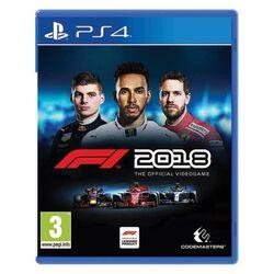 F1 2018: The Official Videogame  [PS4] - BAZÁR (použitý tovar) na pgs.sk