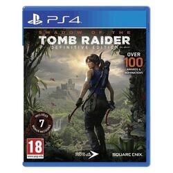 Shadow of the Tomb Raider (Definitive Edition) [PS4] - BAZÁR (použitý tovar) na pgs.sk
