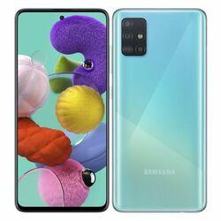 Samsung Galaxy A51 - A515F, 4/128GB, Dual SIM | Blue, Trieda A - použité, záruka 12 mesiacov na pgs.sk