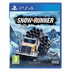 SnowRunner CZ [PS4] - BAZÁR (použitý tovar) na pgs.sk