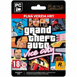 Grand Theft Auto: Vice City [Social Club] na progamingshop.sk