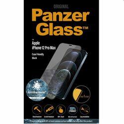 Ochranné temperované sklo PanzerGlass Case Friendly pre Apple iPhone 12 Pro Max, čierne na pgs.sk