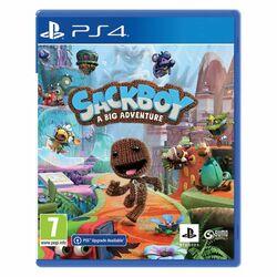 Sackboy: A Big Adventure CZ [PS4] - BAZÁR (použitý tovar) na progamingshop.sk