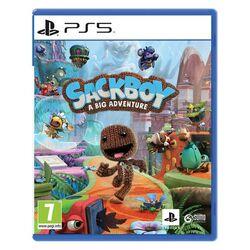 Sackboy: A Big Adventure CZ [PS5] - BAZÁR (použitý tovar) na progamingshop.sk