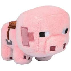 Plyšák Happy Explorer Saddled Pig (Minecraft) na progamingshop.sk