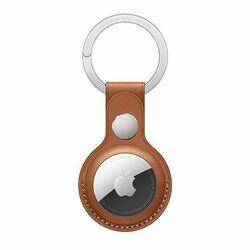Apple AirTag Leather Key Ring, saddle brown na progamingshop.sk