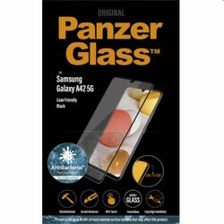 Ochranné temperované sklo PanzerGlass Case Friendly pre Samsung Galaxy A42 5G - A426B, čierne na pgs.sk