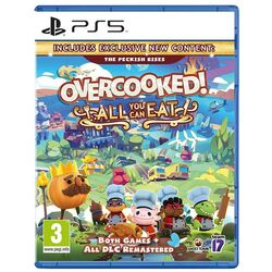 Overcooked! All You Can Eat [PS5] - BAZÁR (použitý tovar) na progamingshop.sk