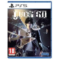 Judgment [PS5] - BAZÁR (použitý tovar) na pgs.sk