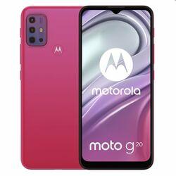 Motorola Moto G20, 4/64GB, sakura pink na pgs.sk