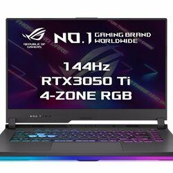 ASUS ROG Strix G15 G513QE-HN029T R5-5600H, 16GB , 512GB SSD, RTX 3050Ti (4GB), 15,6