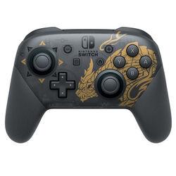 Nintendo Switch Pro Controller (Monster Hunter Rise Edition) - OPENBOX (Rozbalený tovar s plnou zárukou) na pgs.sk