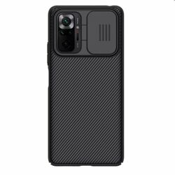 Puzdro Nillkin CamShield pre Xiaomi Redmi Note 10 Pro, čierne na pgs.sk