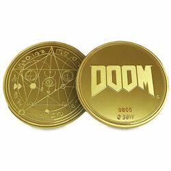 Zberateľská minca Limited Edition 25th Anniversary Gold (Doom) na progamingshop.sk
