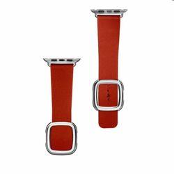 Kožený remienok COTEetCI Nobleman pre Apple Watch 38/40mm, červený na pgs.sk