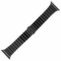Nerezový remienok COTEetCI pre Apple Watch 42/44mm, čierny na pgs.sk