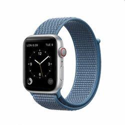 Nylonový remienok COTEetCI Magic Tape pre Apple Watch 38/40mm, modrý na pgs.sk