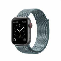 Nylonový remienok COTEetCI Magic Tape pre Apple Watch 42/44mm, svetlomodrý na pgs.sk