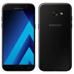 Samsung Galaxy A5 2017 - A520F, Single SIM, 32GB   Black, Trieda C - použité s DPH, záruka 12 mesiacov na pgs.sk