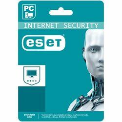 ESET Internet Security pre 1 počítač na 12 mesiacov SK (elektronická licencia) na pgs.sk