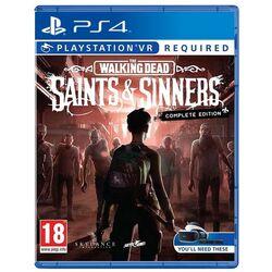 The Walking Dead: Saints & Sinners VR (Complete Edition) [PS4] - BAZÁR (použitý tovar) na pgs.sk