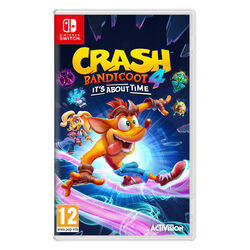 Crash Bandicoot 4: It's About Time [NSW] - BAZÁR (použitý tovar) na pgs.sk