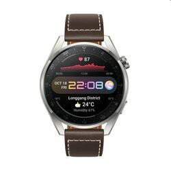 Huawei Watch 3 Pro, brown leather - OPENBOX (Rozbalený tovar s plnou zárukou) na pgs.sk