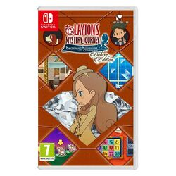 Layton's Myster Journey: Katrielle and the Millionaires' Conspiracy (Deluxe Edition) [NSW] - BAZÁR (použitý tovar) na pgs.sk