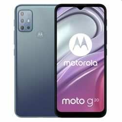 Motorola Moto G20, 4/64GB, breeze blue - OPENBOX (Rozbalený tovar s plnou zárukou) na pgs.sk