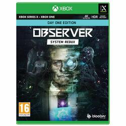 Observer: System Redux (Day One Edition) [XBOX X S] - BAZÁR (použitý tovar) na pgs.sk