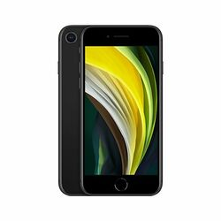 Apple iPhone SE (2020) 64GB, black, Trieda B - použité, záruka 12 mesiacov na pgs.sk