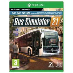 Bus Simulator 21 (Day One Edition) [XBOX ONE] - BAZÁR (použitý tovar) na pgs.sk