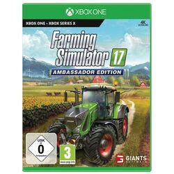 Farming Simulator 17 (Ambassador Edition) [XBOX ONE] - BAZÁR (použitý tovar) na pgs.sk