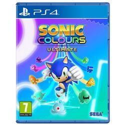 Sonic Colours: Ultimate (Launch Edition) [PS4] - BAZÁR (použitý tovar) na pgs.sk