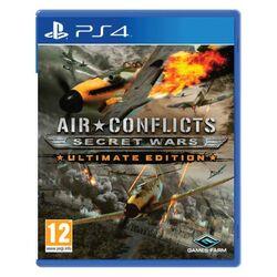Air Conflicts: Secret Wars (Ultimate Edition) [PS4] - BAZÁR (použitý tovar) na progamingshop.sk