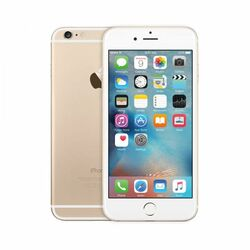 Apple iPhone 6, 16GB | Gold, Trieda A - použité, záruka 12 mesiacov na progamingshop.sk