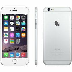 Apple iPhone 6, 16GB | Silver, Trieda C - použité, záruka 12 mesiacov na progamingshop.sk