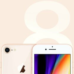 Apple iPhone 8 64GB Gold na pgs.sk