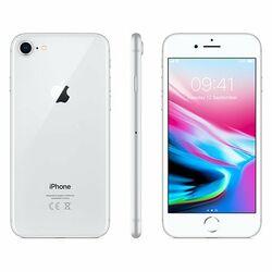 Apple iPhone 8, 64GB   Silver, Trieda B - použité, záruka 12 mesiacov na pgs.sk