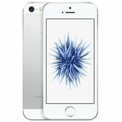 Apple iPhone SE, 16GB | Silver, Trieda C - použité, záruka 12 mesiacov na progamingshop.sk