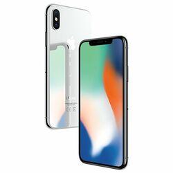 Apple iPhone X, 256GB | Silver, Trieda A - použité, záruka 12 mesiacov  na progamingshop.sk