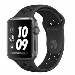 Apple Watch Nike+ GPS, Series 3, 42mm Space Grey Aluminium Case with Anthracite/Black Nike Sport Band na pgs.sk