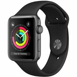 Apple Watch Series 3 GPS, 38mm | Space Grey - rozbalené balenie  na progamingshop.sk