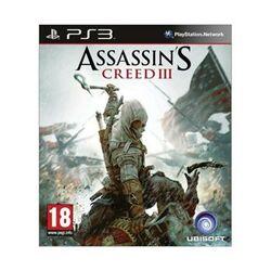 Assassin's Creed 3 CZ-PS3 - BAZÁR (použitý tovar)  na progamingshop.sk