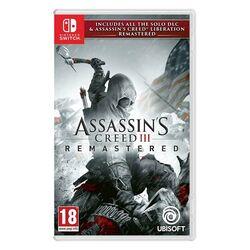 Assassin's Creed 3 (Remastered) [NSW] - BAZÁR (použitý tovar) na progamingshop.sk