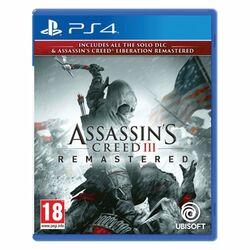 Assassin's Creed 3 (Remastered) [PS4] - BAZÁR (použitý tovar) na progamingshop.sk