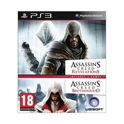 Assassin's Creed: Brotherhood + Assassin's Creed: Revelations na progamingshop.sk