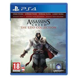Assassin's Creed CZ (The Ezio Collection) [PS4] - BAZÁR (použitý tovar) na progamingshop.sk